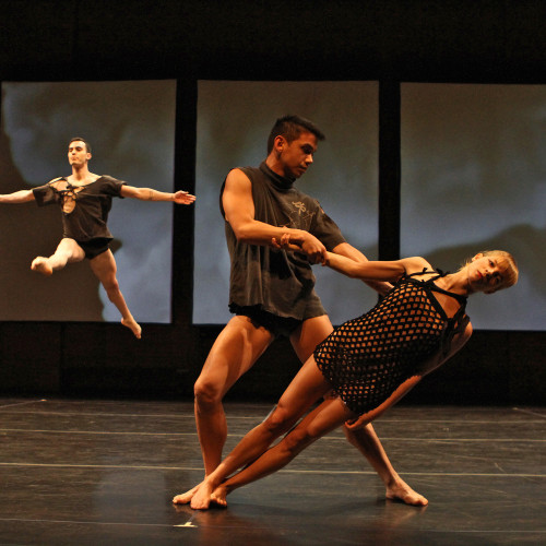 """Stephen Petronio Company in """"Underland"""" at the Joyce"""